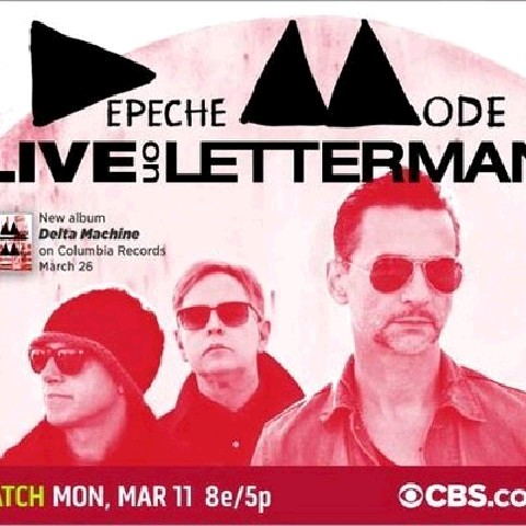 Depeche Mode - Live On Letterman (2013)
